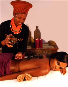 flowers: Mangwanani African Revitalization Full Day Spa!