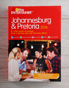 gifts: The Entertainer   Johannesburg and Pretoria!