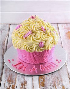 gifts: New Arrival Baby Girl Giant Cupcake!