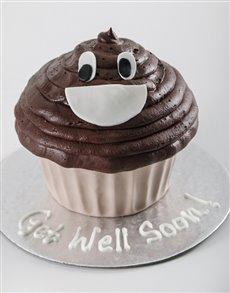 bakery: Personalised Emoji Giant Cupcake!