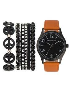 jewellery: Hallmark Mens Black and Brown Box Set!