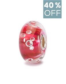 jewellery: Trollbeads The Diamond Bead Pink!