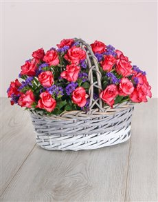 gifts: Pink Love Basket!