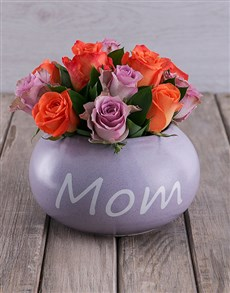 gifts: Distinctive Mom in Pot!