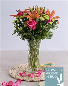 gifts: Royal Flowers in a Vase!