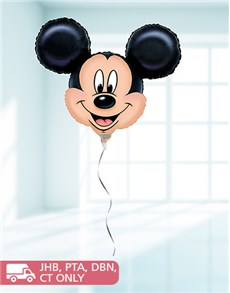 flowers: Jumbo Mickey Mouse Balloon!