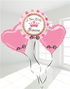 flowers: Little Princess Pink Balloon Bouquet!