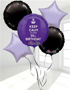 flowers: 50th Birthday Balloon Bouquet!