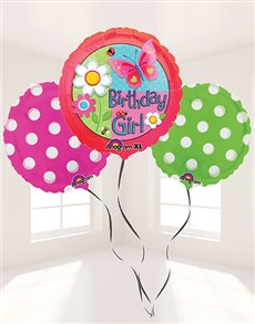 flowers: Birthday Girl Balloon Bouquet!