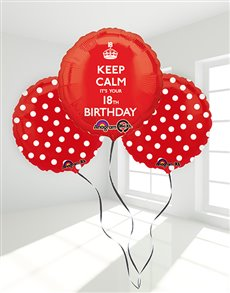 gifts: 18th Birthday Balloon Bouquet!