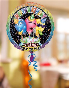 flowers: Happy Birthday to You Singing Balloon!