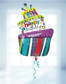 gifts: Happy Birthday Helium Balloon Supersize!