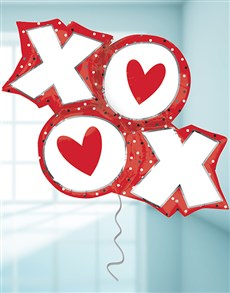 flowers: XO Dots Balloon!