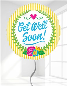 gifts: Get Well Soon Helium Balloon!