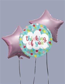 gifts: Thinking of You Dotted Helium Balloon!