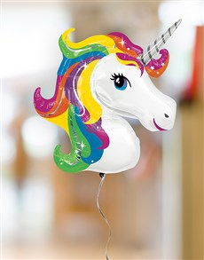 gifts: Unicorn Balloon Bouquet!
