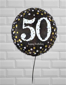 flowers: Sparkling 50th Birthday Jumbo!