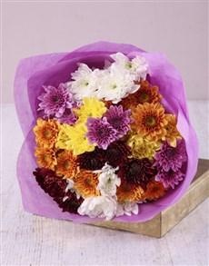 flowers: Chrysanthemum Bliss Bouquet!