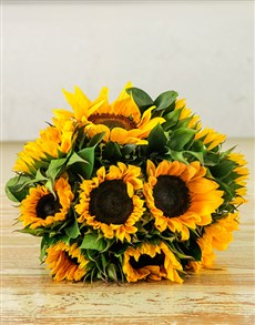 gifts: Sunflower Sunrise Bouquet!