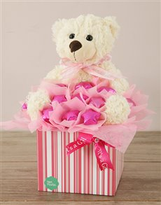 flowers: It's a Girl Edible Arrangement!