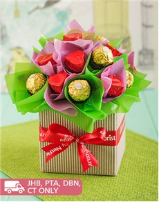 flowers: Sweetness Chocolate Arrangement!