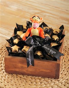 flowers: Tigger Chocolate Tray!