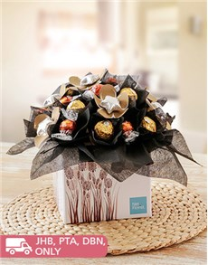 gifts: Chocoholic Edible Arrangement!