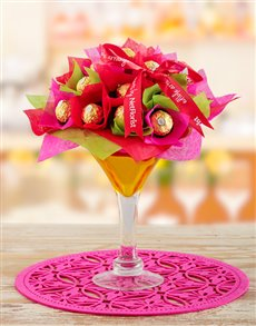 flowers: Yellow & Pink Edible Cocktail!
