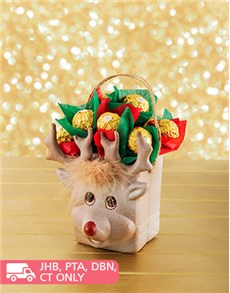 flowers: Reindeer Chocolate Arrangement!