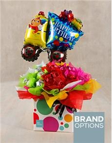 flowers: Happy Birthday Truck Box!