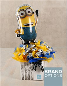 gifts: Minions Edible Arrangement!