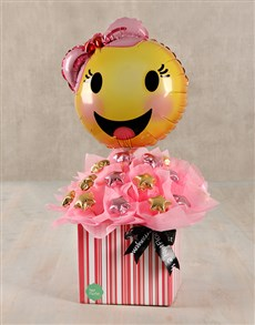 flowers: Happy Emoticon Edible Arrangement!