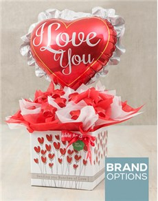 gifts: Frilly Love Edible Arrangement!