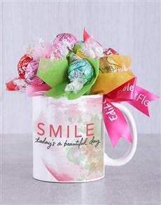 gifts: Beautiful Day Lindt Mug Arrangement!