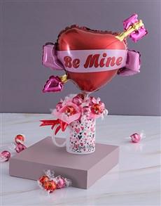 flowers: Amazing Lindt Mug Arrangement!