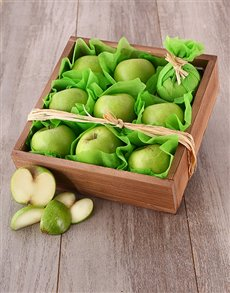 gifts: Green Apple Snack Box!