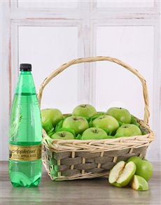 gifts: Apple a Day Fruit Basket!
