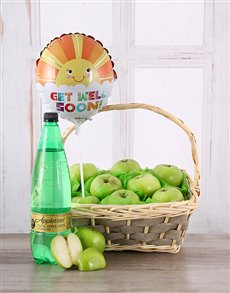 flowers: Get Well Soon Apple Basket!