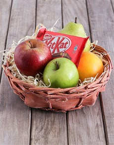 flowers: Have a Fruit and Kit Kat Break!