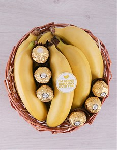 flowers: Bananas For You Basket!