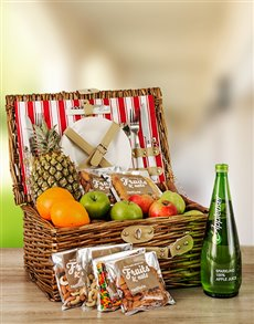 flowers: Fruit and Nut Picnic Basket!