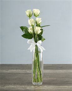 flowers: Say it with Six   White!