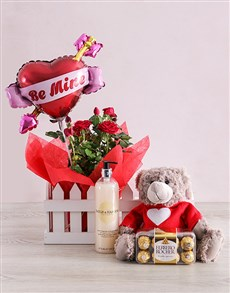 plants: Be Mine Romance Hamper!