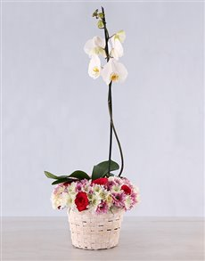 flowers: Pretty in Pink Basket!