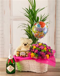 gifts: Congratulations Plant Basket!