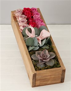 plants: Rose and Gum Leaf Crate!