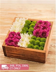 flowers: Wooden Box of Sprays!