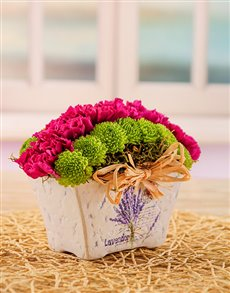 flowers: Pottery Arrangement of Sprays!