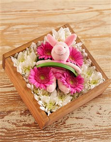 flowers: Petite Piglet Arrangement!