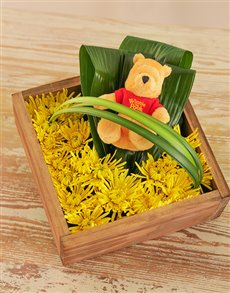 flowers: Bright Winnie the Pooh Flower Box!